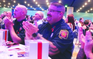 Fire Lieutenant Scott Hester and Firefighter William Culpepper