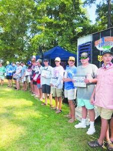GA Bass Nation Fishing Tournament