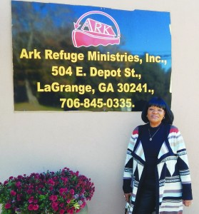 Yvonne Lopez, Director of the Ark Refuge Ministries.